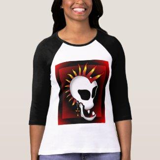 PUNK SKULL-3 shirt