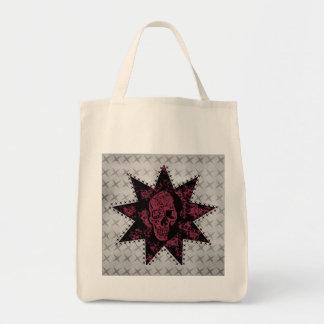 Punk Skull Bag (Dark Pink)