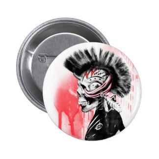 punk skull buttons