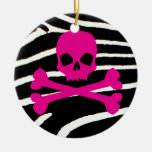 Punk Skull Christmas Tree Ornament