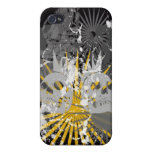 Punk Skull iphone 4 Hard Case iPhone 4/4S Covers