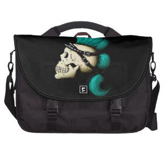 Punk Skull Laptop Commuter Bag
