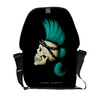 Punk Skull Messenger Bag