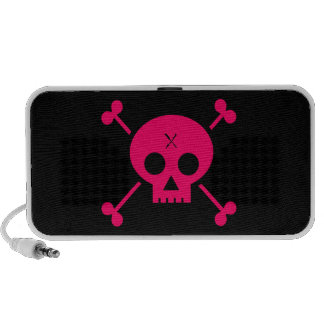 Punk Skull Travelling Speakers