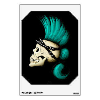 Punk Skull Wall Decal