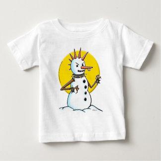 punk snowman copy infant t-shirt