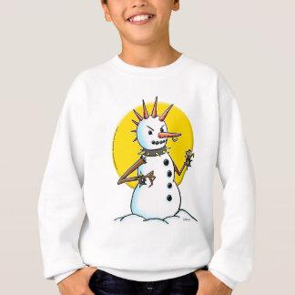 punk snowman copy sweatshirt