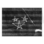 Punk Stars Greeting Card