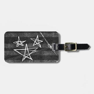 Punk Stars Travel Bag Tags