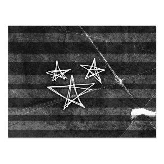 Punk Stars Postcard