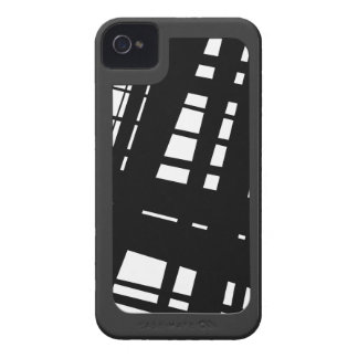 Punk style mononchrome with surround iPhone 4 cover