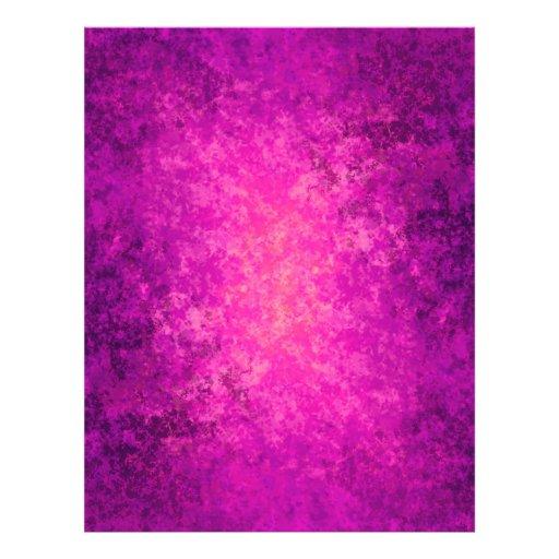 Punk sucio de la púrpura y de las rosas fuertes flyer personalizado