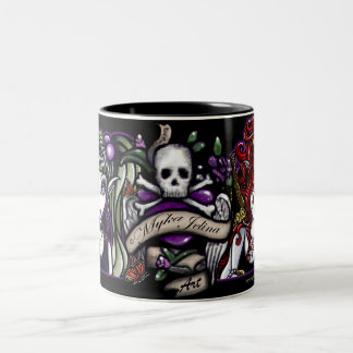 Punk Tattooed Fairy Fantasy Mug