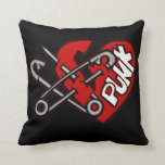 Punk Throw Pillows