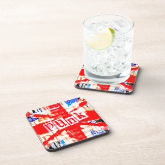 Punk Union Jack Coaster Set of Six