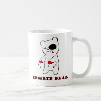 Punk Zombie Bear Red-handed Coffee Mug