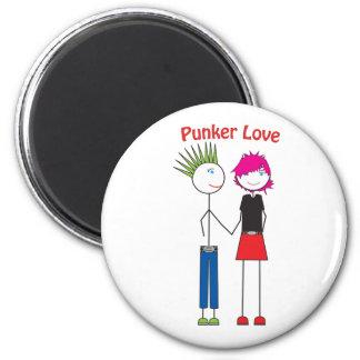 Punker Love Magnet