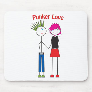 Punker Love Mouse Pad