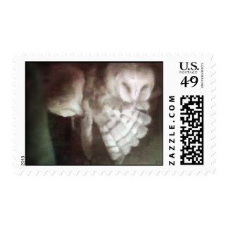 Punkie 3 que baila en la oscuridad timbres postales
