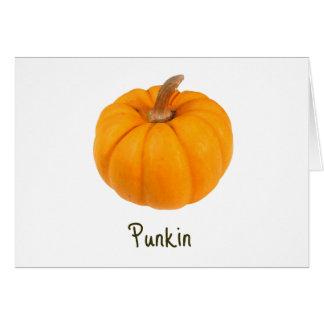 Punkin Card