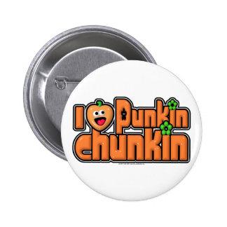 Punkin Chunkin Pin Redondo 5 Cm