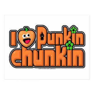 Punkin Chunkin Postcard