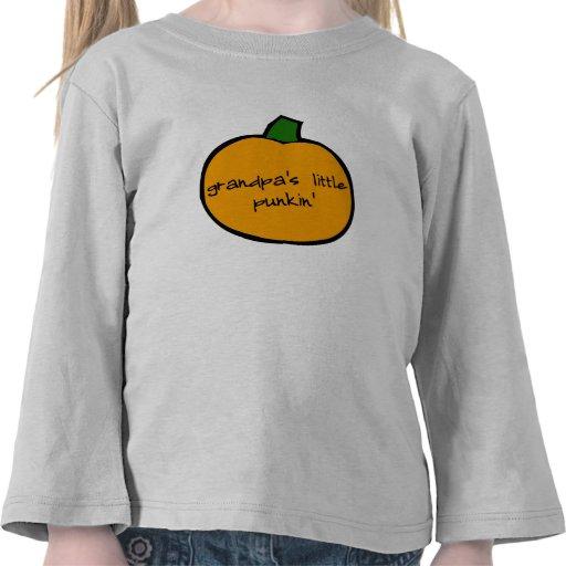 Punkin de los abuelos - niño de largo camiseta
