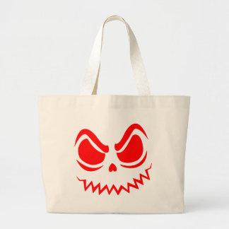 Punkin' Face Jumbo Tote Bag
