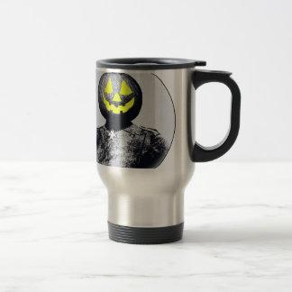 Punkin Head Soldier 15 Oz Stainless Steel Travel Mug