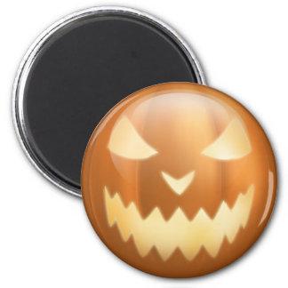 Punkin Mug Lit 2 Inch Round Magnet
