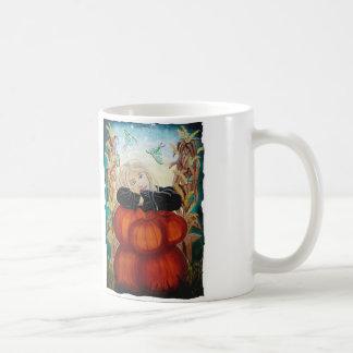 Punkin Pile - Pumpkins, Witch, Moon, Halloween Coffee Mug