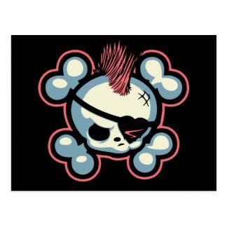 Punkin Pirate Chick Postcard