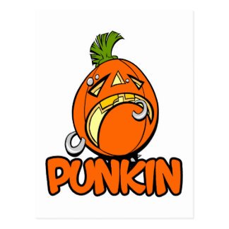 Punkin Postcard
