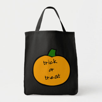 Punkin' trick or treat candy bag! tote bag