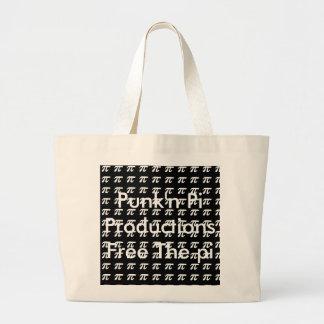 Punk'n Pi Shopping Tote Bag Free the Pi