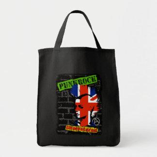 Punkrock - Union jack mohawk Einkaufstaschen
