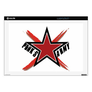 """Punk's Army Decals For 17"""" Laptops"""