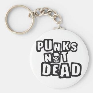 punks emergency DEAD Keychain