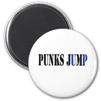 Punks jump up to get beat down refrigerator magnets