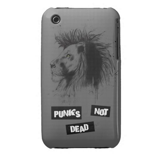 punks no absolutamente iPhone 3 Case-Mate protectores