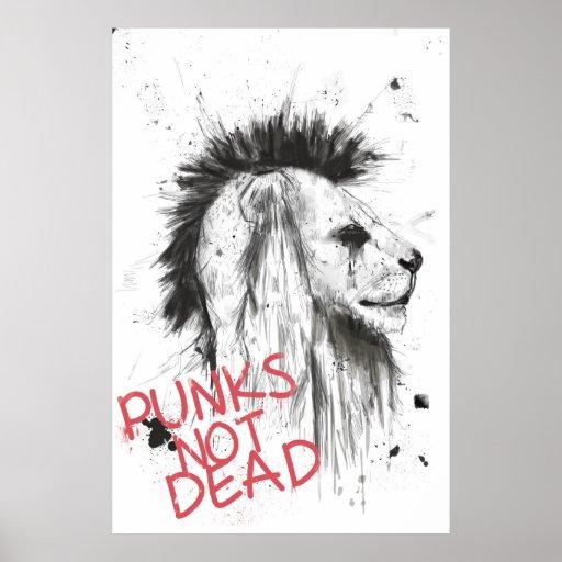 punks no absolutamente poster