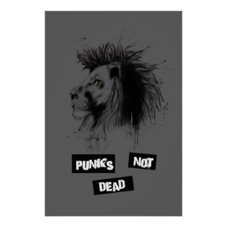 punks no absolutamente póster