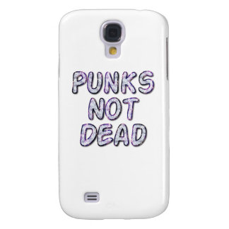 Punks Not Dead by Chillee Wilson Samsung Galaxy S4 Cases