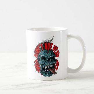 Punk's Not Dead Coffee Mug