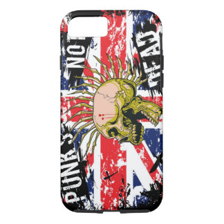 Punks Not Dead iPhone 7 Case