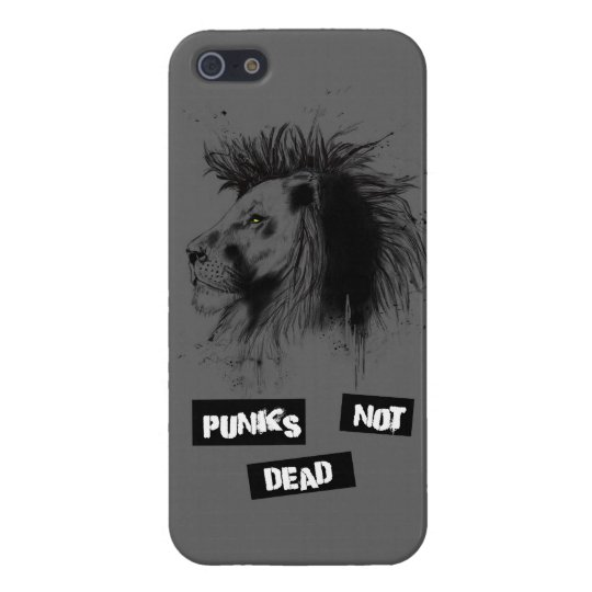 punks not dead iPhone SE/5/5s case
