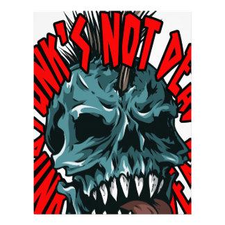 Punk's Not Dead Letterhead