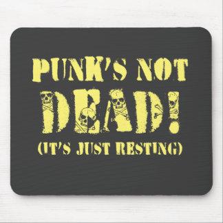 Punks Not Dead! Mouse Pad