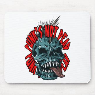 Punk's Not Dead Mouse Pad