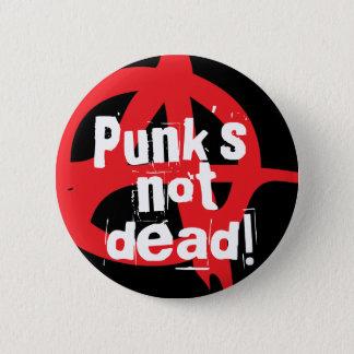 Punk's not dead! pinback button